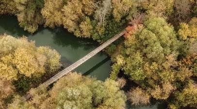 Пенсионер из Татарстана отремонтировал мост в своём посёлке