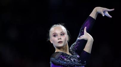 Мельникова завоевала бронзу в вольных упражнениях на ЧМ по спортивной гимнастике