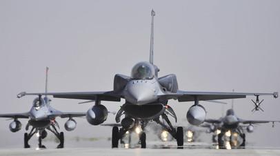 Самолёты F-16C, выпущенные на турецком предприятии TAI
