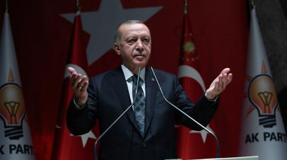 Эрдоган назвал условие продолжения военной операции в Сирии