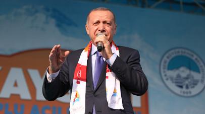 Эрдоган заявил о нейтрализации «765 террористов» в Сирии