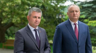 Додон встретится с лидером Приднестровья 29 октября