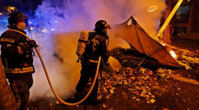 Ущерб от протестных акций в Барселоне может составить €2,7 млн