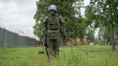Российские военные прибыли для разминирования территории Лаоса