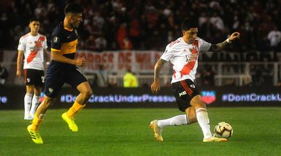 «Ривер Плейт» вышел в финал Кубка Либертадорес, победив «Бока Хуниорс» по сумме двух матчей