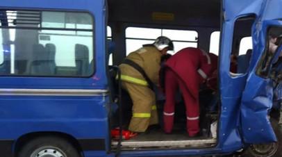 В Алтайском крае объявили траур по погибшим в ДТП с микроавтобусами