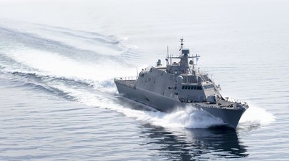 ВМС США ввели в строй боевой корабль прибрежной зоны Indianapolis