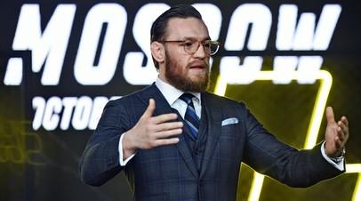 Экс-чемпион UFC в двух весовых категориях Конор Макгрегор