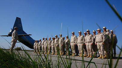 Военнослужащие Минобороны России убывают в Египет на совместное учение в условиях африканской пустыни