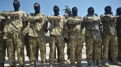 Бойцы батальона «Азов»