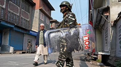 Ситуация в Кашмире остаётся напряжённой