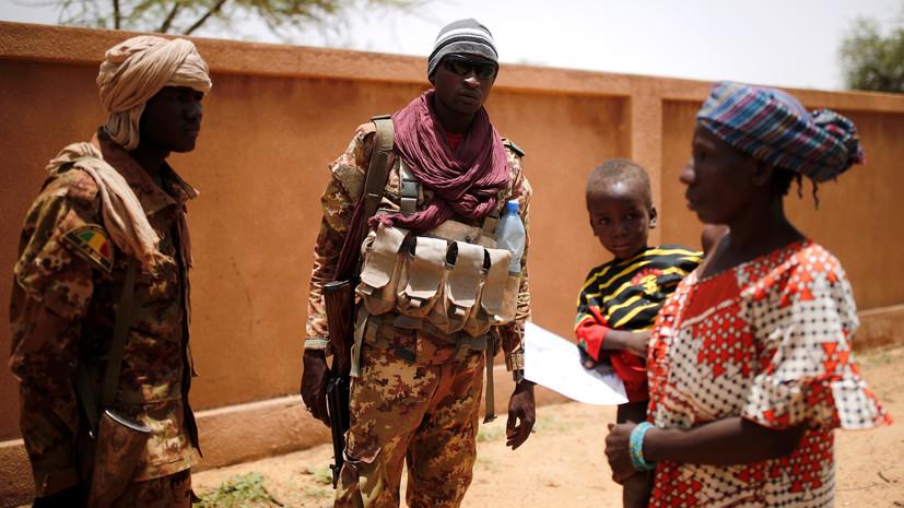 В Мали при нападении боевиков на блокпост погибли 54 человека