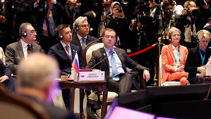 По общим правилам: Медведев заявил об отсутствии альтернатив ВТО в условиях торговых войн