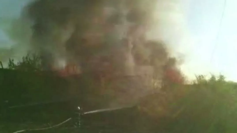 Спасатели потушили пожар в Ереване около российской авиабазы