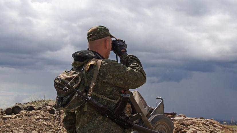 Военнослужащий НМ ЛНР погиб в результате обстрела