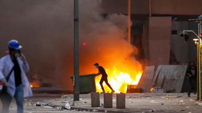 Более 150 человек пострадали в ходе протестов в Багдаде