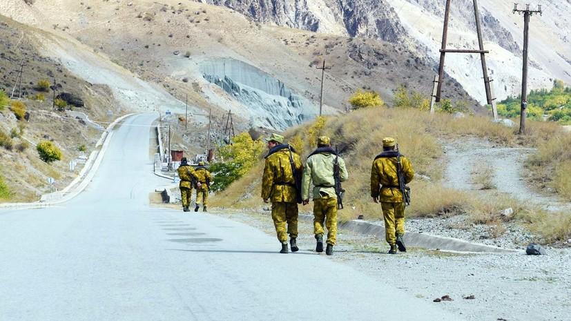 Вооружённая группа совершила нападение на погранпункт в Таджикистане