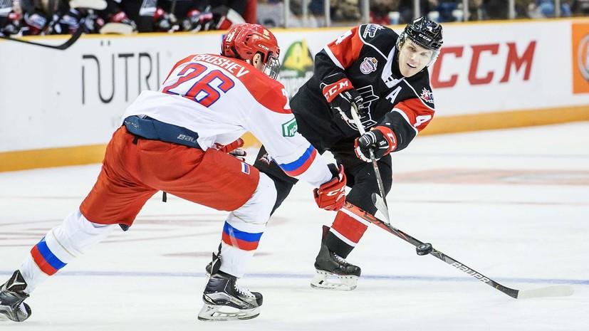 Гол в овертайме и провокация: сборная Квебека вырвала победу у России в матче молодёжной Суперсерии