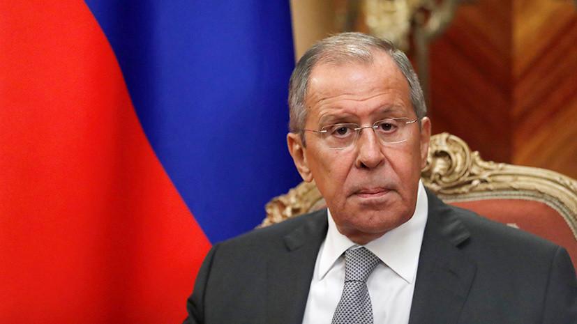 Лавров назвал ограничения на работу российских СМИ на Западе цензурой