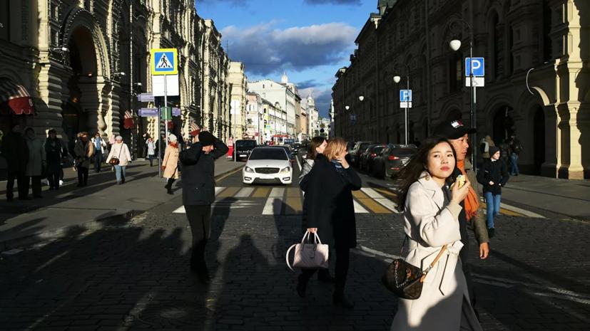 Синоптики прогнозируют возвращение тёплой погоды в Москву