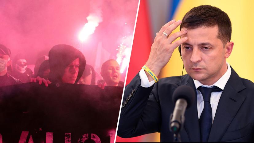 «Инерция националистической истерии»: как на Украине продолжается рост радикальных настроений