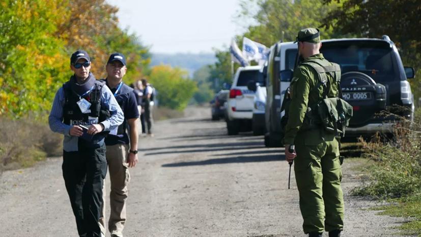 ДНР предложила начать отвод сил в районе Петровского 9 ноября