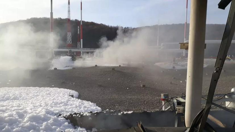 В Новороссийске ликвидировали пожар на нефтебазе