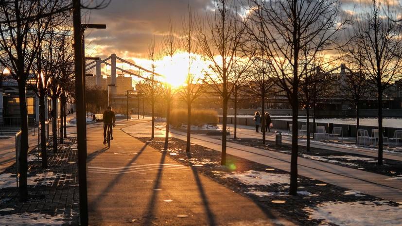 Синоптики прогнозируют «вишнёвую» зиму в Москве