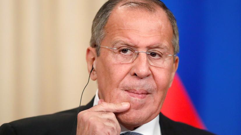 Лавров прокомментировал поставленный Макроном «диагноз» НАТО
