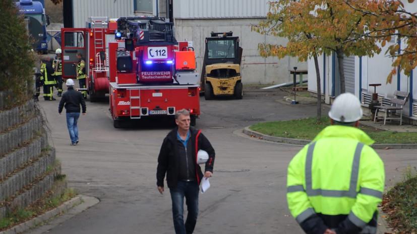 Заблокированные после взрыва на шахте в Германии 35 человек спасены