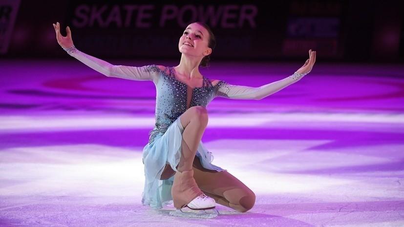Тарасова оценила сложность рекордного проката Щербаковой