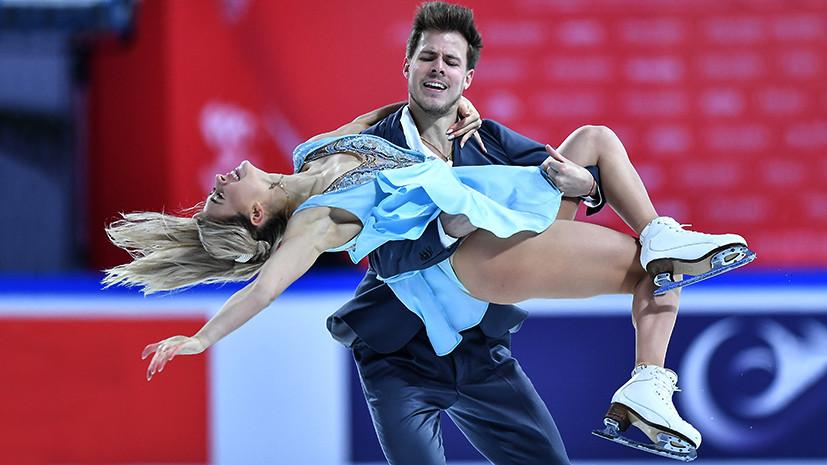 Со вторым результатом в истории: Синицина и Кацалапов выиграли ритм-танец на этапе Гран-при в Китае