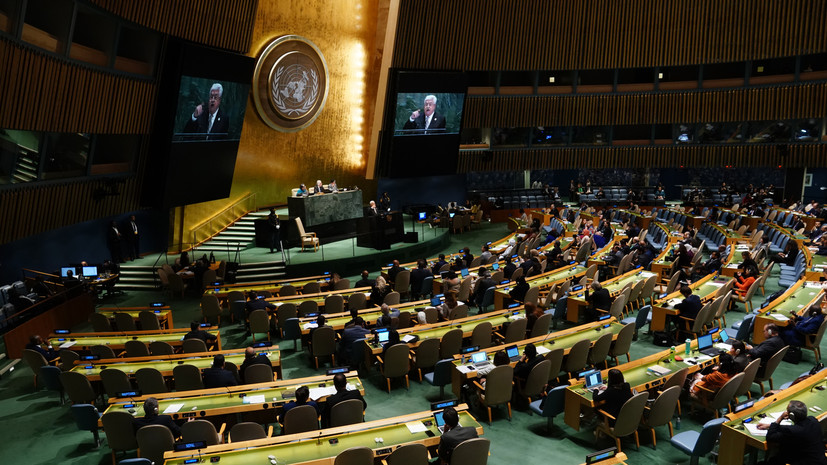 Россия может вновь поднять вопрос о переносе Первого комитета ГА ООН