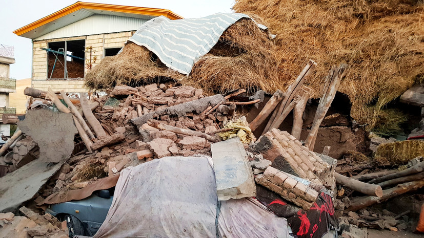 Число пострадавших при землетрясении в Иране увеличилось до 529