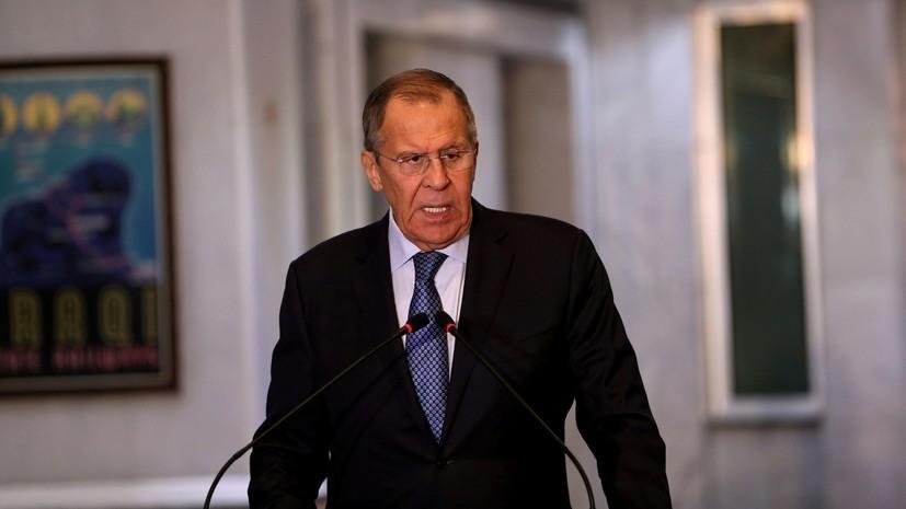 Лавров заявил о продвижении в процессе сирийского урегулирования