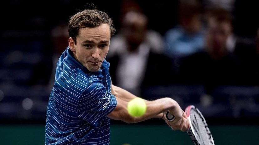 Медведев надеется, что сможет выиграть несколько матчей на Итоговом турнире ATP