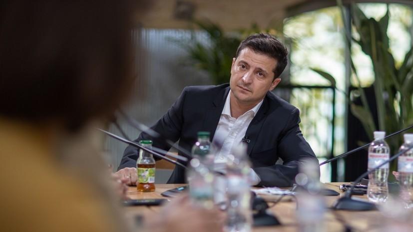 Зеленский назвал украинский языком добра и достоинства