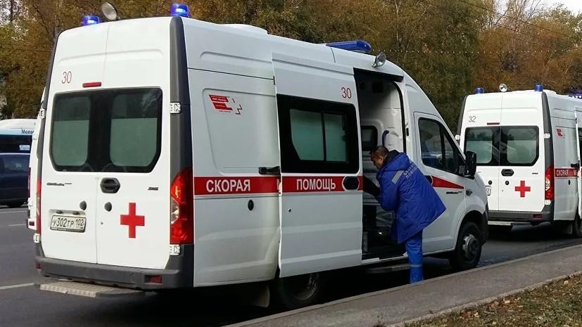 При столкновении двух автобусов в Уфе погиб водитель