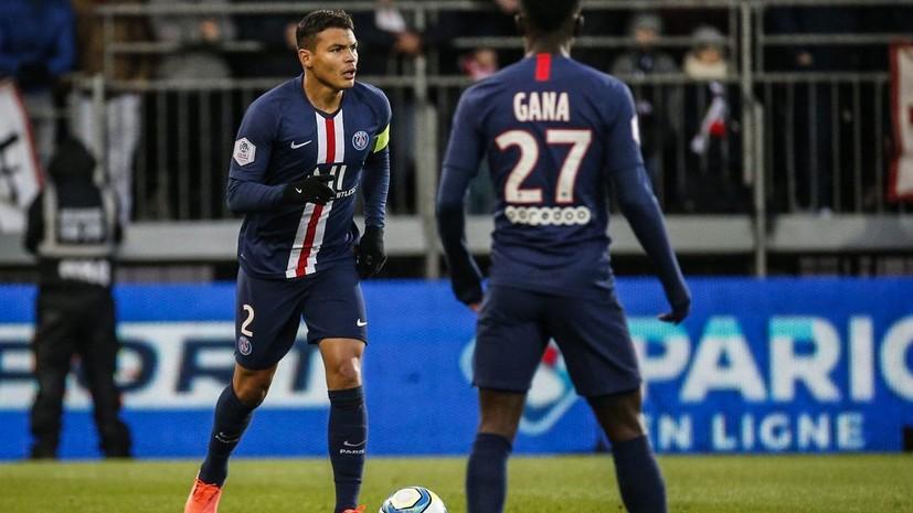ПСЖ победил «Брест» в матче Лиги 1 благодаря голу на 85-й минуте