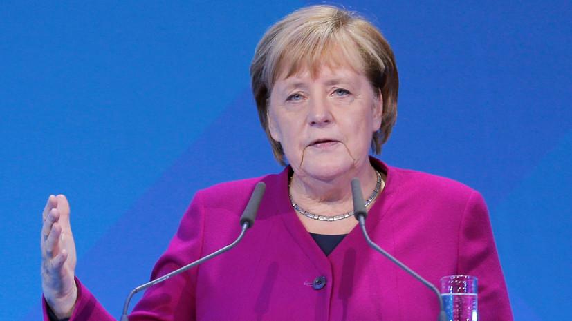 Меркель отметила актуальность темы обороны стран НАТО