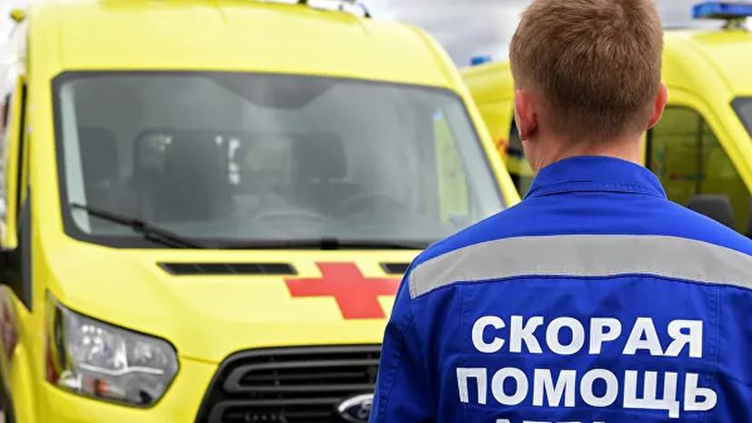 В результате ДТП в Курской области пострадали восемь человек