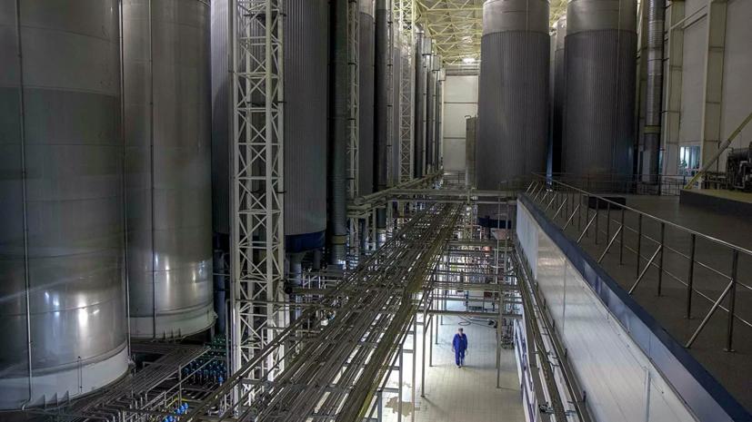 На заводе «Балтика» в Петербурге произошёл прорыв теплосети