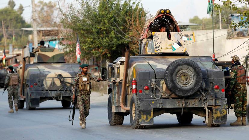 Четверо афганских военных погибли при нападении на их блокпост