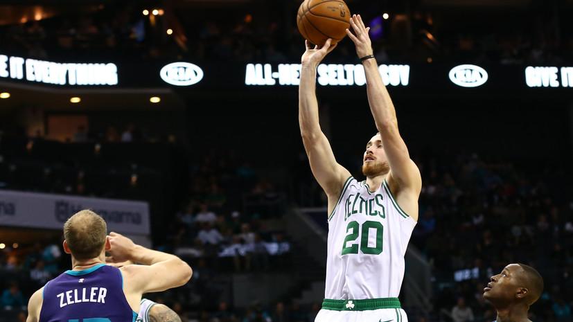 Баскетболист «Бостона» Хэйворд пропустит шесть недель из-за перелома руки