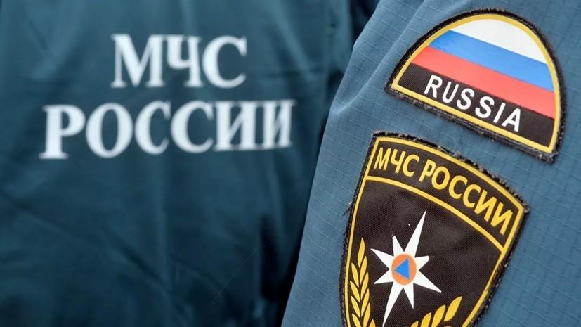 В Свердловской области произошёл пожар на строительной базе