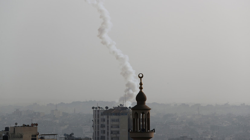 Армия Израиля заявила о 220 запущенных из сектора Газа ракетах