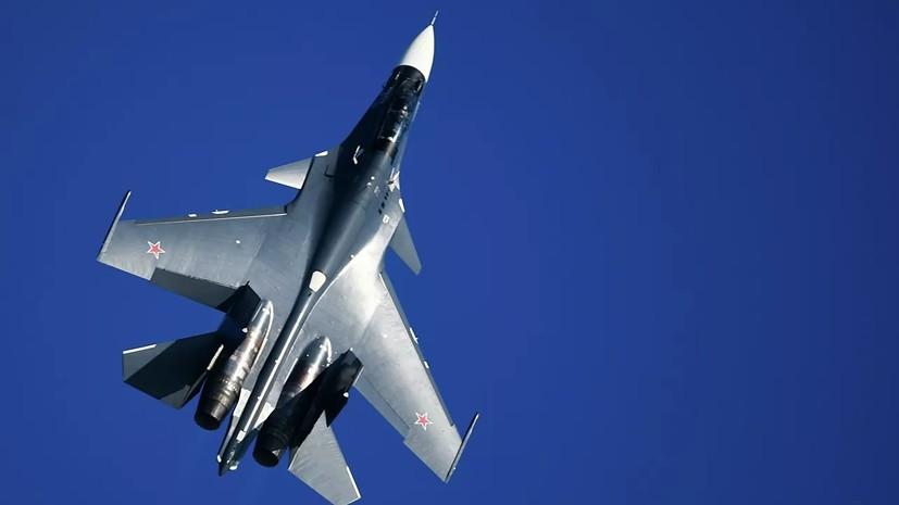 В Белоруссию доставили два заказанных в России истребителя Су-30СМ