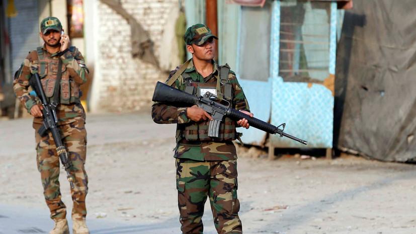 В Афганистане группа боевиков ИГ сдалась военным