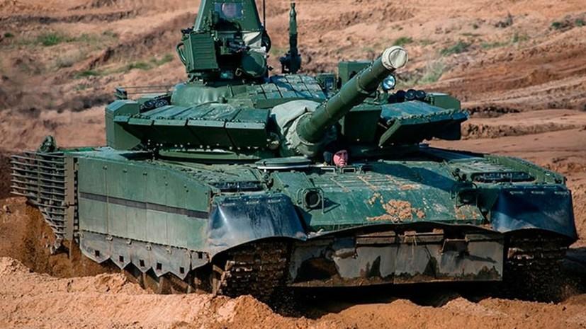 Танковый батальон Северного флота перевооружили на танки Т-80БВМ