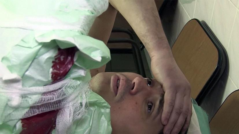Водитель «скорой» был ранен во время дежурства